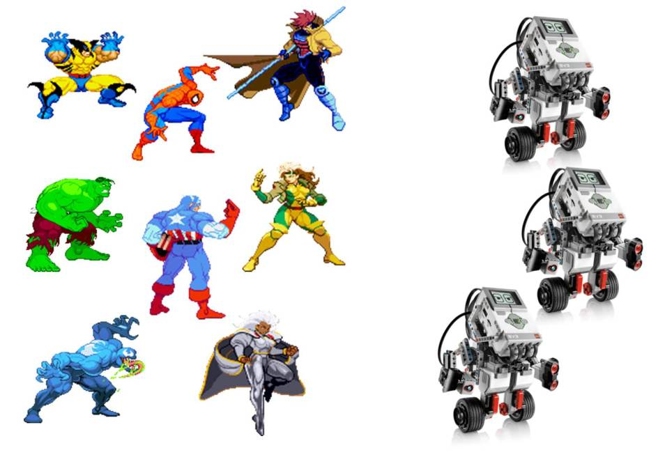 Videojuegos VS Robots